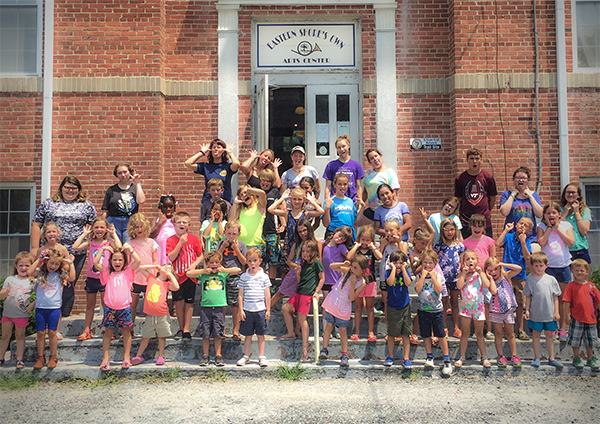 Summer Arts Camp (with a little bit of Science)
